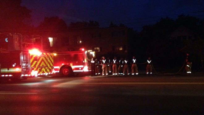 Fire crews responded overnight to a fatal apartment fire in the 2800 block of Madison Road in Oakley.