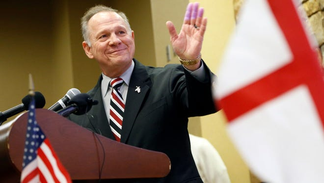 U.S. Senate candidate Roy Moore of Alabama