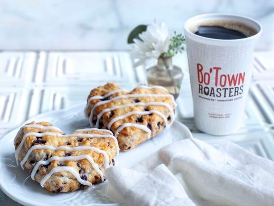 Bojangles' seasonal Heart-Shaped Bo-Berry Biscuits