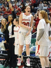 In this March 7, 2010 file photo, Marist's Erica Allenspach