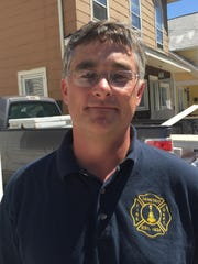 Andrew Chanler, fire chief.