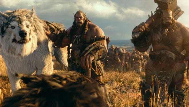"""Warcraft"" was adapted from the popular multiplayer online role playing game."