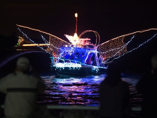Both Martin and St. Lucie counties have their Christmas boat parades this weekend.