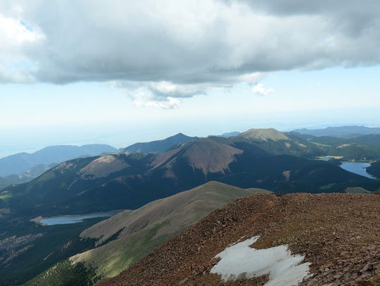 Iowa and Colorado both have a Pikes Peak, one rising