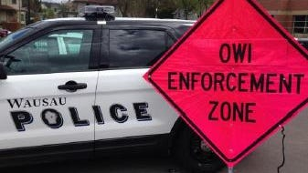 Three local agencies will join forces for high-visibility OWI enforcement patrols beginning today. Photo courtesy Wausau Police Department