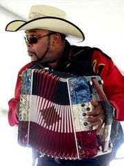Accordion ace Jeffery Broussard and the Creole Cowboys entertain Saturday at Festivals Acadiens et Creoles.