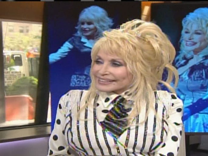 """Dolly Parton said she's keeping up-to-date with new ways to reach her fans.  """"I try to surround myself with folks that keep up with it.  But it's completely different now, but it's wonderful that I'm still here.  I say I'm as old as yesterday, but hopefully as new as tomorrow."""