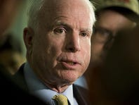 Sen. John McCain honored with Lifetime Achievement Democracy Award