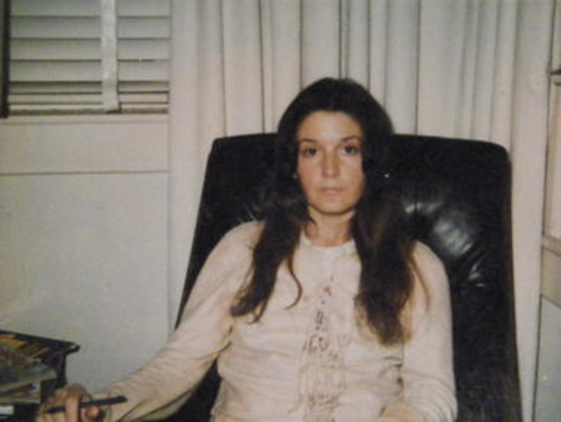 Sharon Hensley in her last known picture before she
