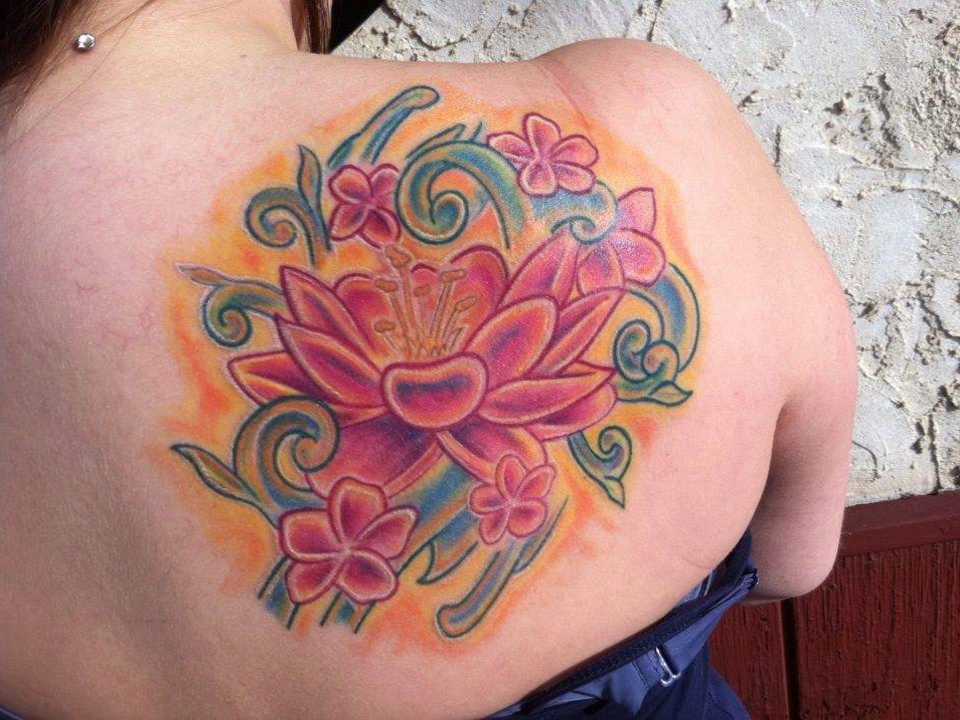 Tattoos By Chris Burns Of Chris James Tattoo Studio