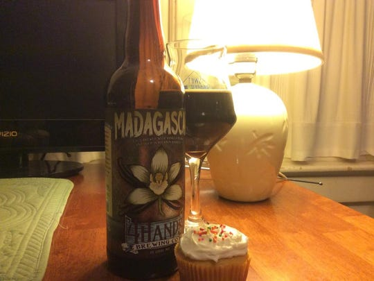 4 Hands Brewing's Madagascar is a nearly flawless barre-aged stout with vanilla beans.