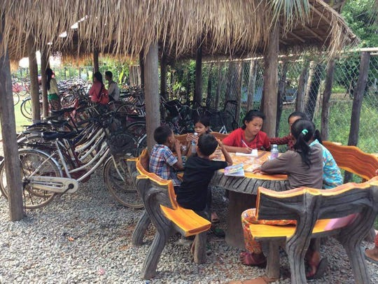 Bicycles to help children from other villages reach