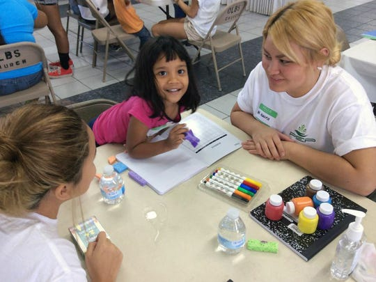 The I Can Too! summer camp is a five-day day camp for children with disabilities and their siblings. Activities include art, physical education and outdoor play.