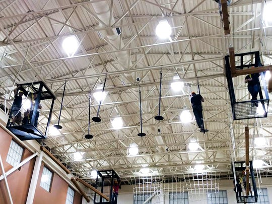The Soldier Activity Center will host a Challenge Course Day on its high-ropes course Sept. 30.