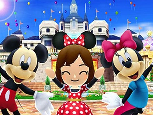 """Hang out with Mickey, Minnie and pals while engaging in activities in """"Disney Magical World"""" for the Nintendo 3DS."""
