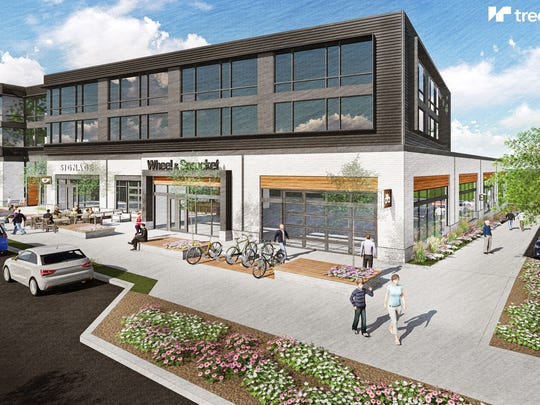 Wheel & Sprocket will be the first retail tenant at