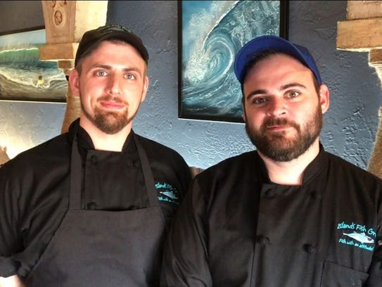 Jared Moretti and Nate Saint Denis are the chefs at