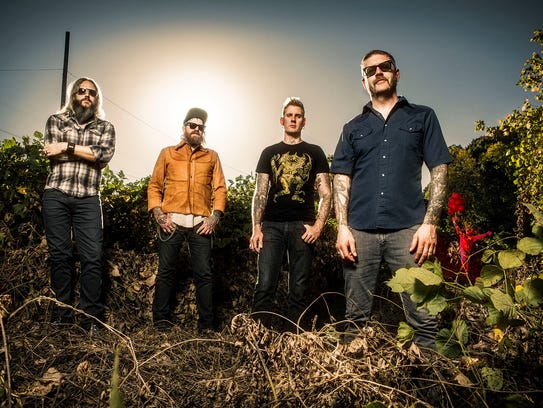 The band Mastodon recently appeared on the HBO show