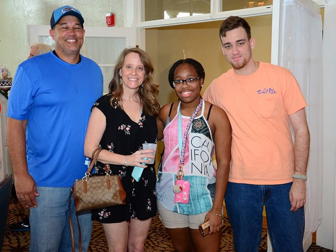 Kamen and Heather Jenkins along with Sybria Green and