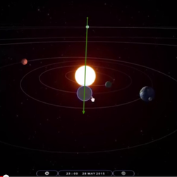 A supposed planetary alignment is scheduled for May 28, as shown in a YouTube video.