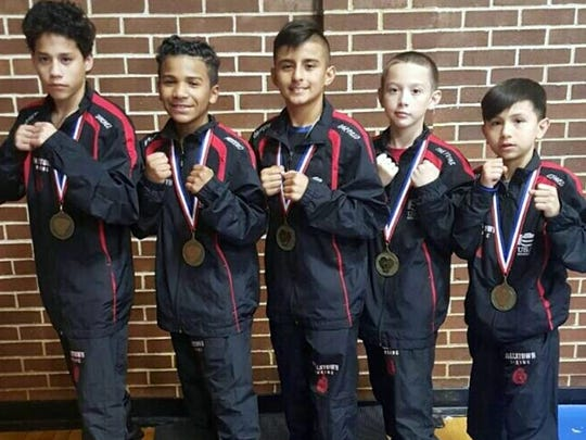Fallstown Boxing took six fighters to represent Wichita