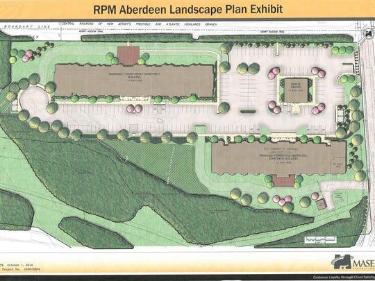 Aberdeen Site Plan
