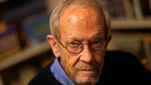 """Elmore Leonard is best known for his crime fiction novels popularized in feature films like """"Get Shorty"""" and """"Be Cool."""""""