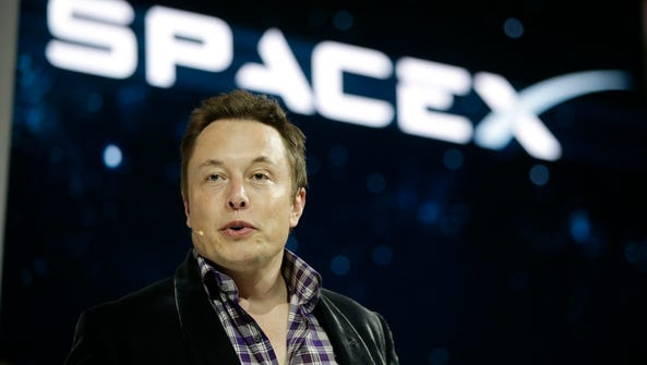In this May 29, 2014, file photo, Elon Musk, CEO and