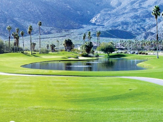 Indian Canyons Golf Course.