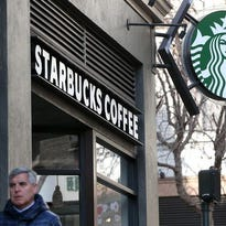 Starbucks is trying out delivery service.