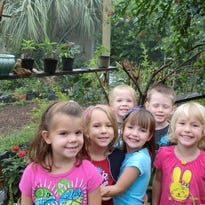 Children enjoy an outing to the butterfly garden at Cape Coral's Rotary Park.