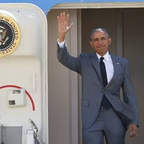 President Obama on Nov. 17, south of Manila.