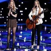 """Green Bay twins Andi & Alex will play the Weidner Center on May 21 with fellow """"The Voice"""" contestant Madi Davis."""