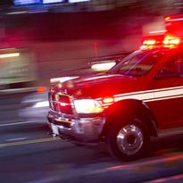 Plymouth man injured after car drives into ravine