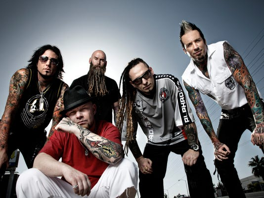 five finger death punch  On the Road Again: Five Finger Death Punch hits fests