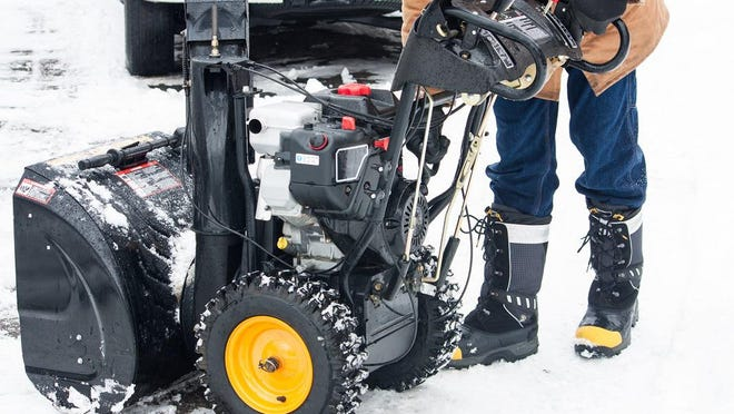 Along with area businesses that sell winter equipment, the Outdoor Power Equipment Institute encourages home and business owners to ready their snow throwers.