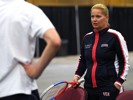 Tennis great Kathy Rinaldi, a world champion and captain of the United States Fed Cup team, will defend the United States' 2017 Fed Cup title at the US Cellular Center in Asheville in February.