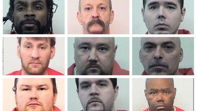 A total of 13 men are awaiting execution on Indiana's death row at Michigan City.