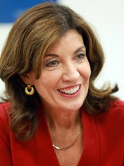 Lt. Gov. Kathy Hochul in Manhattan on Monday