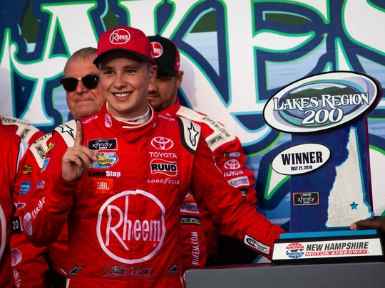 Christopher Bell is the early betting favorite at Iowa Speedway. The Joe Gibbs Racing driver has won back-to-back Xfinity Series races.