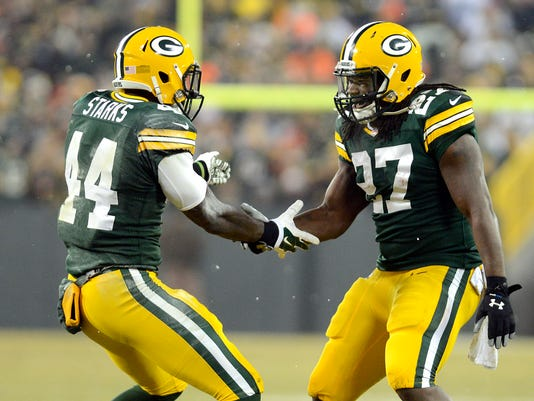 Eddie Lacy, James Starks