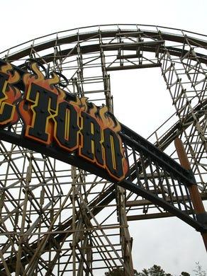 2008: El Toro, a roller coaster at Six Flags Great Adventure.
