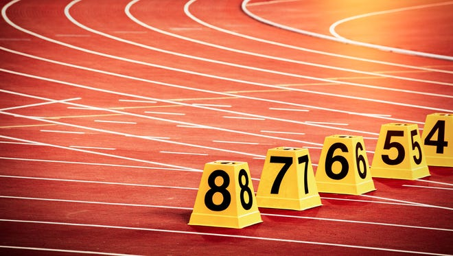 Track and field image.
