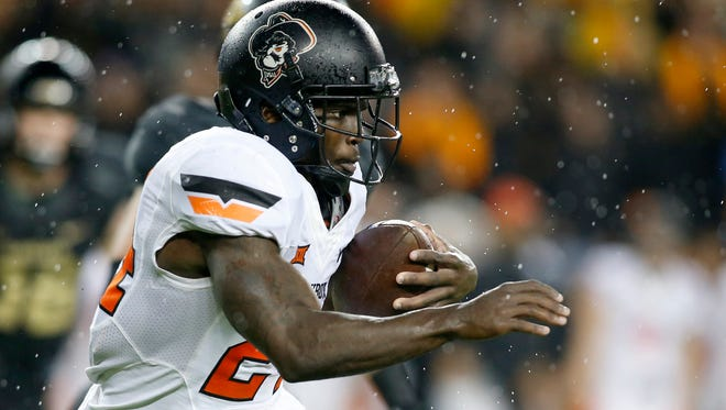 Former Oklahoma State Cowboys wide receiver Tyreek Hill pleaded guilty to assault