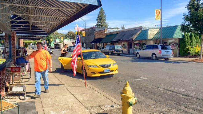 Downtown revitalization will be the Town Hall topic Wednesday at the Stayton Community Center.