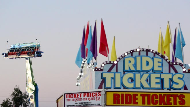 The 2015 West Tennessee State Fair is being held through Sept. 20 at Jackson Fairgrounds Park.