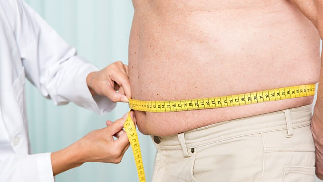 A new study says that Delaware has an obesity rate of 30.7 percent, which is the 23rd highest in the country.