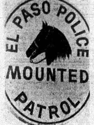 El Paso Police Mounted Patrol.