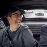 Jerry Seinfeld, on the road with Julia Louis-Dreyfus on 'Comedians in Cars Getting Coffee,' welcomes new guests including John Oliver and Lorne Michaels in the show's eighth season, due June 16 on Crackle.