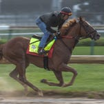 Kentucky Derby and Oaks workouts at Churchill Downs